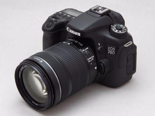 キヤノン「EOS 70D EF-S18-135mm F3.5-5.6 IS STMレンズキット」