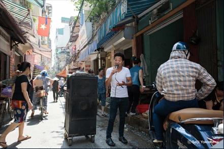 横島清二 写真展「BLINK MEMORIES - Hà Nội」