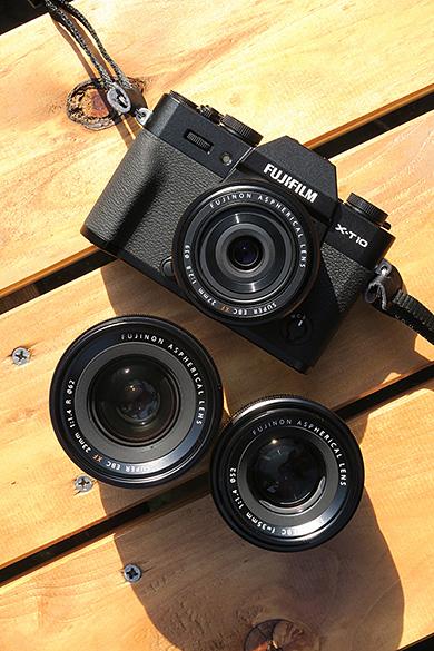 FUJIFILM X-T10 & Lenses