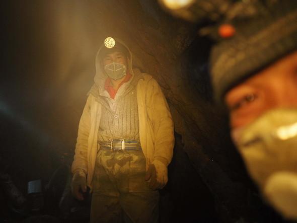 清水 哲朗 写真展「NINJA〜モンゴルの金鉱山労働者たち〜」