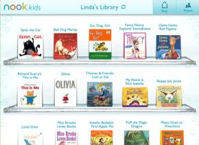 Nook kids for iPad