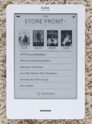 Kobo Store画面
