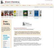 Project Gutenberg Self Publishing