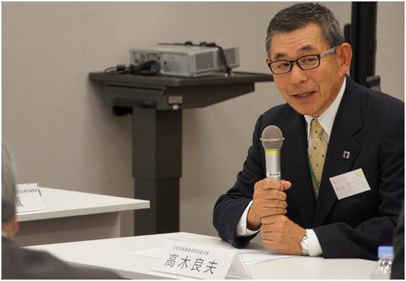 日本音楽事業者協会の高木良夫副会長