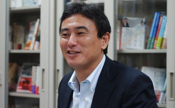 太田出版代表取締役社長の岡 聡氏