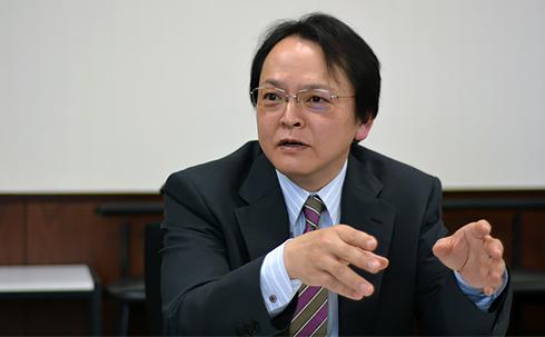 青山学院大学経済学部長 宮原勝一教授