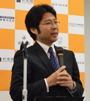 東京大学出版会事務理事の黒田拓也氏