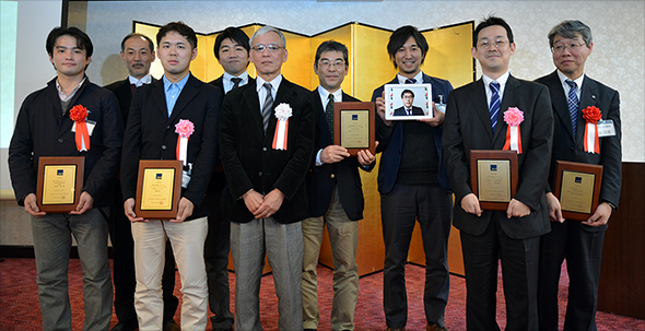 第8回 JEPA電子出版アワード受賞者集合写真
