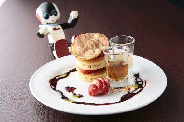 Robiのごちそうパンケーキ(1日20食限定)800円