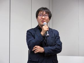 サービス企画部 橋場一郎氏によるトークセッション