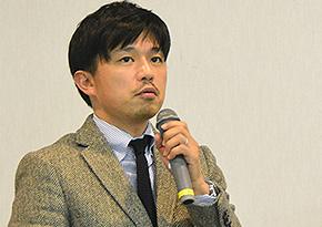 小学館 デジタル事業局 コンテンツ営業室課長の小沢清人氏