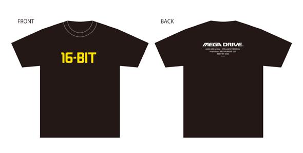 「16-BIT」Tシャツ
