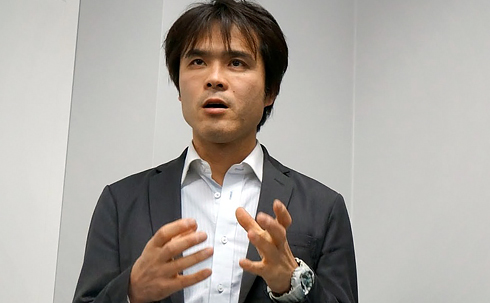 NHN PlayArt comico事業プロデューサーの大藤充彦氏
