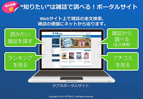PC Webサイトも新設する(発表会資料より)