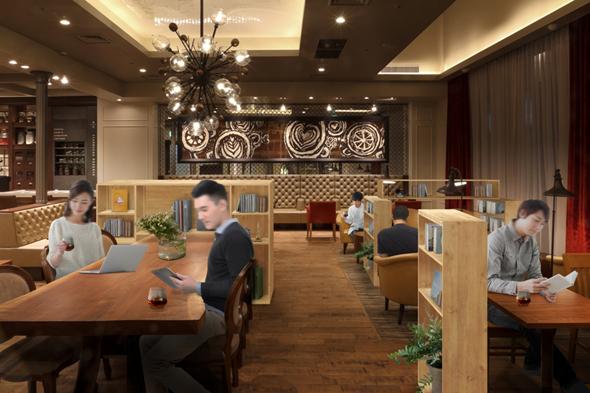 「On-the-Rock Coffee Room」イメージ(出典:スターバックス コーヒー ジャパンWebサイト)