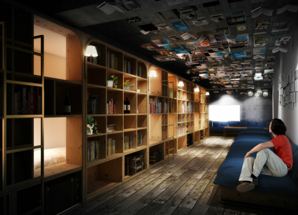 BOOK AND BED TOKYO �C���[�W ©SUPPOSE DESIGN OFFICE