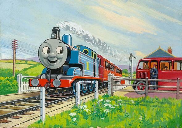 レジナルド・ダルビー「トーマスとバーティー」1949年 (c)2015 Gullane(Thomas)Limited.