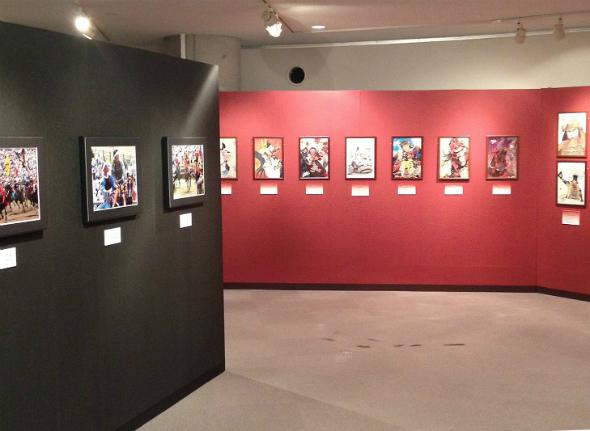 石ノ森萬画館で開催された際の写真