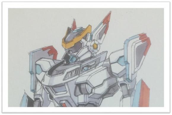 大河原邦男さんによるアニメのコンセプト画