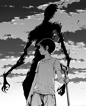 黒い幽霊 画像出典:『亜人』1巻 ©桜井画門/講談社