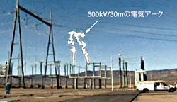 図1 エルドラド変電所の事故の様子