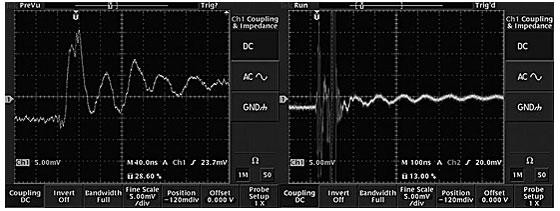 図7 X社、Y社製品の波形の詳細