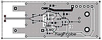 図B 図Aの回路の実装基板