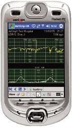図1 スマートホンを組み込み機器のコントローラとして使った例