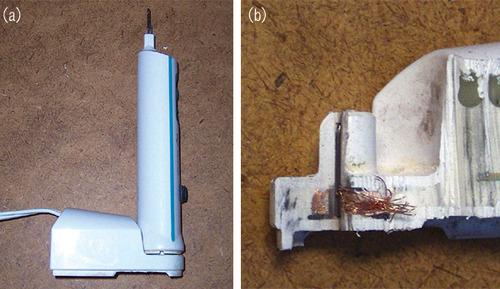 図1 充電式電動歯ブラシ