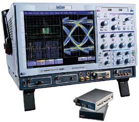 図3 LeCroy社のオシロスコープ「WaveExpert 100H」とTDRモジュール「ST-20」