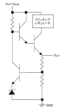 図3 スイッチングレギュレータを組み込んだLDO