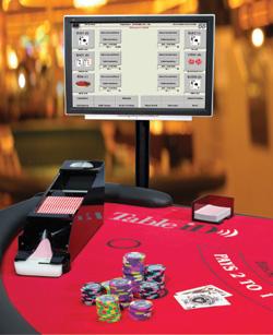 図2 テーブルゲーム用の自動システム「TableiD」