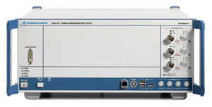 写真1 Rohde&Schwarz社製の製造テスト用テスター「CMW270」