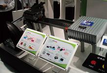 図24 東芝のハイブリッド車用システムのトータル展示