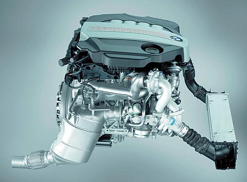 写真3 BMW123dのクリーンディーゼルエンジン(提供:BMW社)