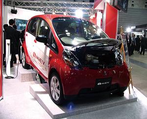 写真1 三菱自動車のiMiEV