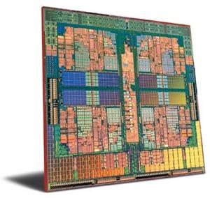 写真2 AMD社のクワッドコアプロセッサPhenomX4