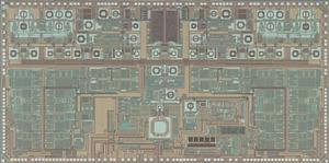 写真1 IEEE802.11nに対応したRF回路