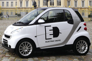 写真2 smart for twoを電動化したsmarted(提供:Daimler社)