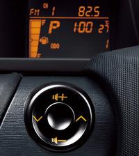写真2 マルチインフォメーションディスプレイとステアリングスイッチ(提供:トヨタ自動車)