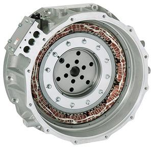 写真2 センサーレスベクトル制御で動作するハイブリッド車用モーター(提供:東芝)