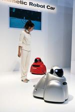 写真1 日産自動車のバイオメトリックロボットカーBR23C