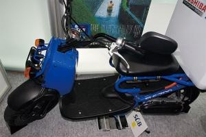 写真6 東芝のSCiBを搭載した電動バイク