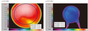 図3 トリップ状態での最大表面温度
