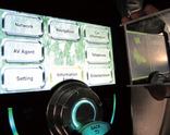 写真2左右座席共有インターフェースのタッチパネルの見え方