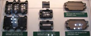 写真4富士電機デバイステクノロジーのハイブリッド車用IGBTモジュール