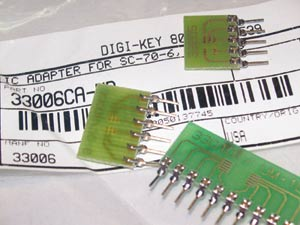 写真1 変換基板の例