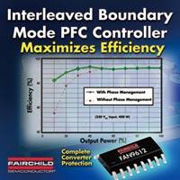 図1 インターリーブ動作を用いたPFC制御IC「FAN9612」