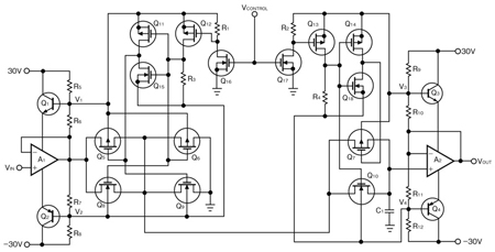 図3 入出力電圧範囲を拡大する方法(詳細回路)