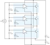 図3 一般的に使用されている均等充電回路(並列モニター回路)